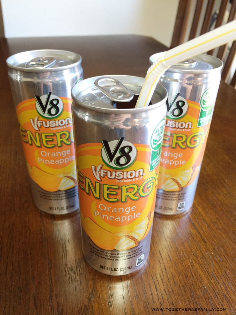 V8 + Energy   Together as Family