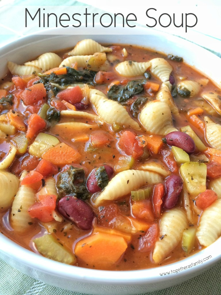 Good Food Minestrone Soup