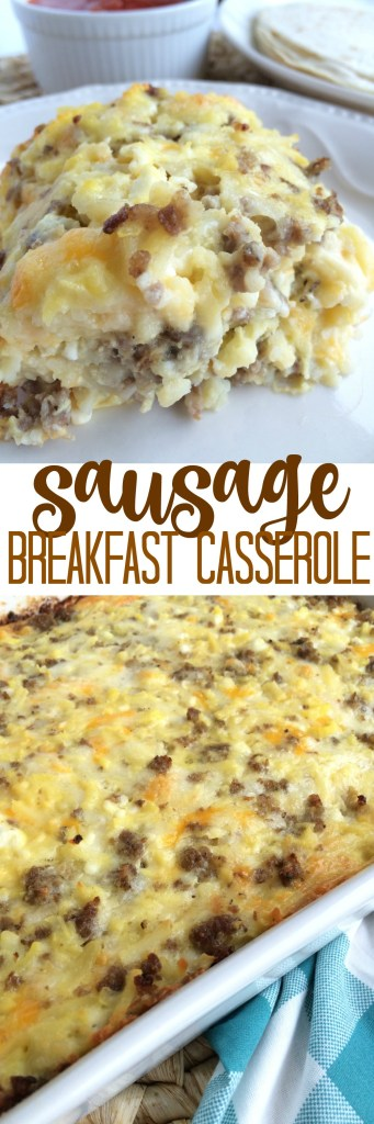 Sausage Breakfast Casserole | Together as Family