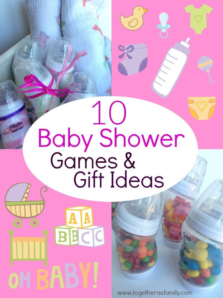 10 Baby Shower Games With Baby Bottles Together As Family