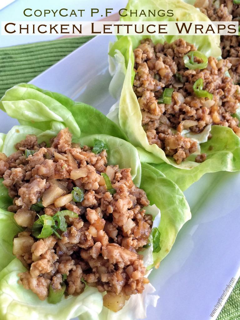 Copycat P.F. Chang's Chicken Lettuce Wraps