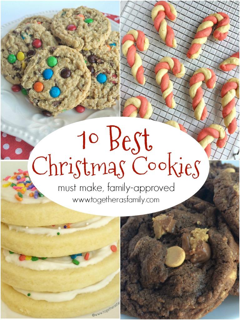 top ten christmas cookies recipes