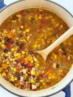 Chicken Tortilla Vegetable Soup