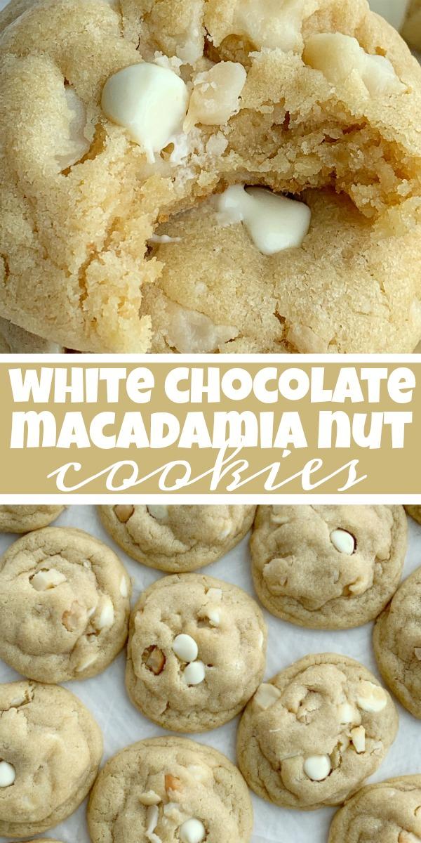 White Chocolate Macadamia Nut Cookies - www.togetherasfamily.com