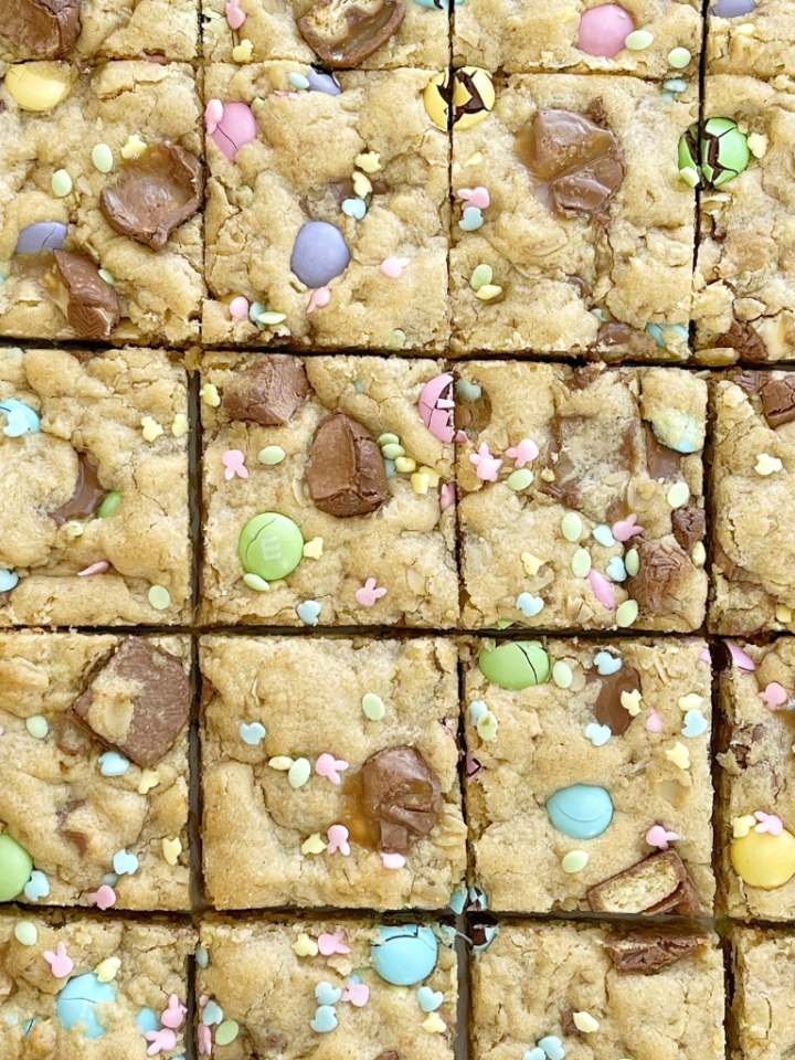Easter cookie bar recipe