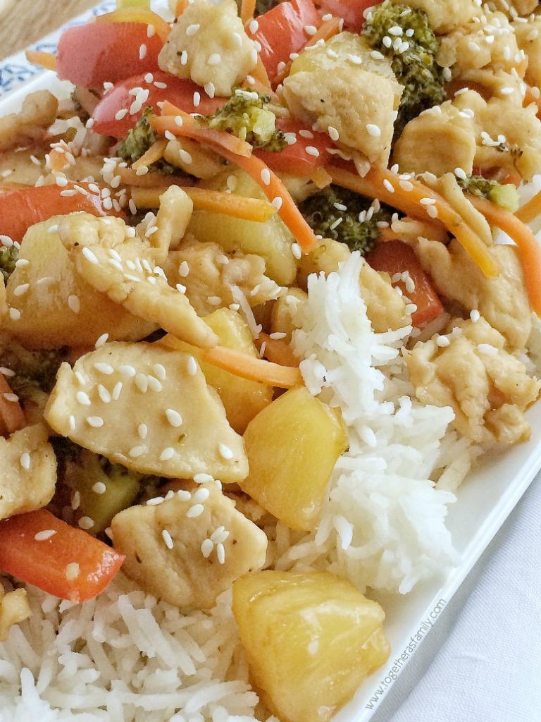 How to make teriyaki chicken stir fry recipe