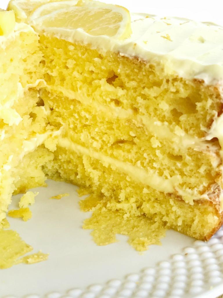 Easy Homemade Lemon Cake