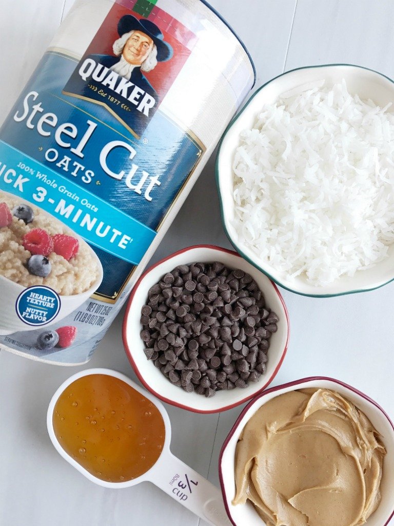 Steel Cut Oatmeal Energy Bites Together As Family Ball Cup Oat Matcha Are An Easy 5 Ingredient Healthy Treat To Make