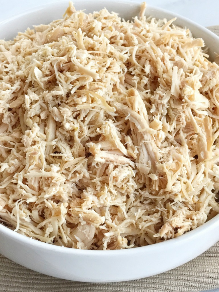 Have you ever wondered how to get flavorful chicken that is shredded just  like in the
