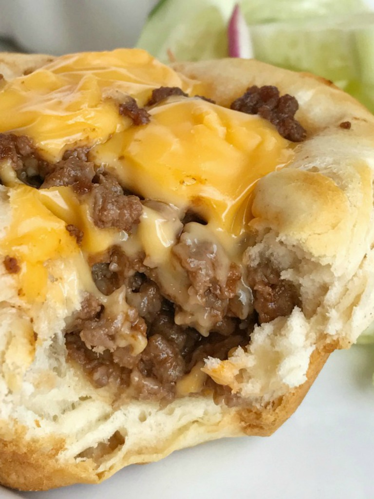 Cheeseburger Biscuit Cups