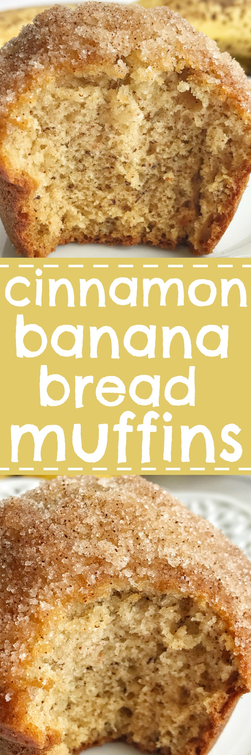 Cinnamon banana bread muffins together as family cinnamon banana bread muffins taste like banana bread in muffin form they are perfectly light forumfinder Gallery