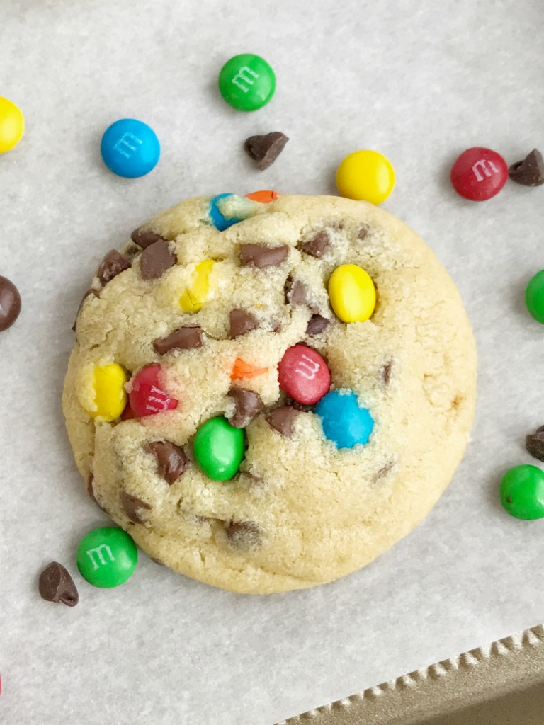 M M Chocolate Chip Pudding Cookies Are Thick Chewy Soft Baked And Loaded With