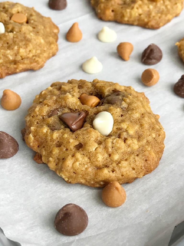 Oatmeal Cookies Soft Cake Like