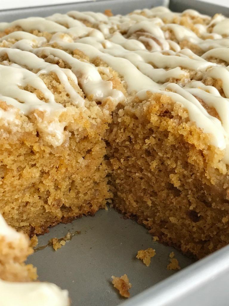 how to make pumpkin cake with cake mix
