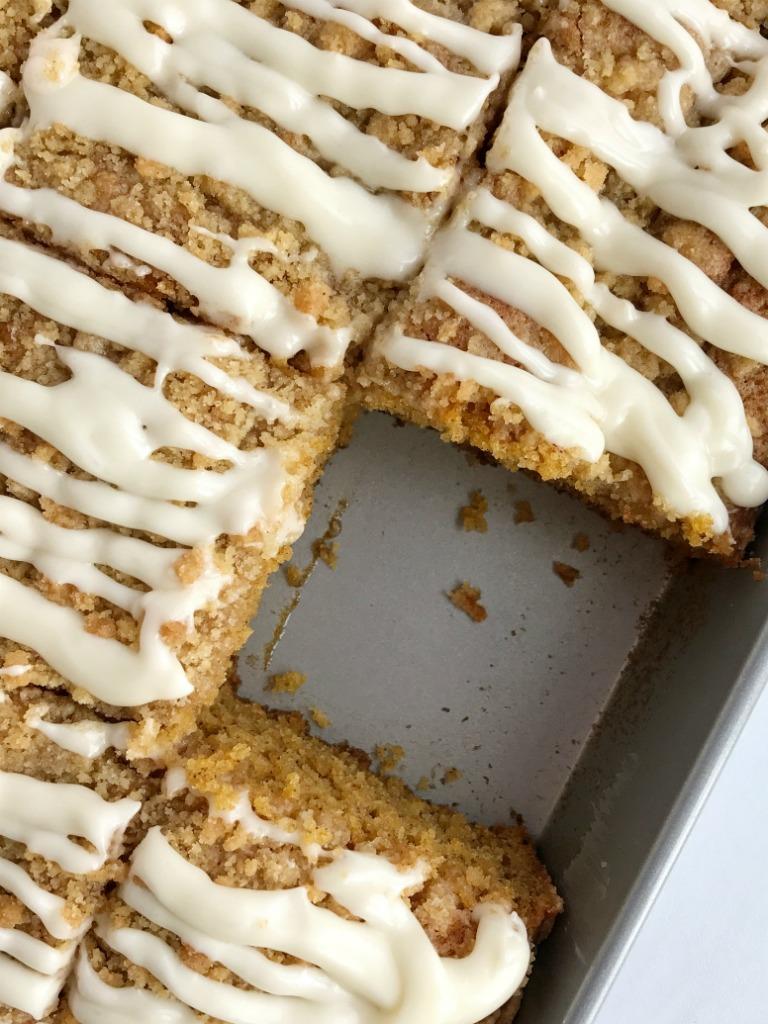 Pretty Good Food Pumpkin Coffee Cake
