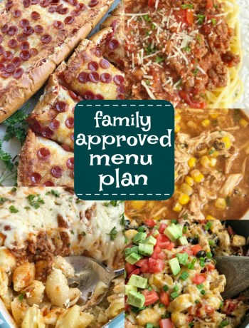 Menu planning | Meal Plan | Menu Plans | Easy dinner recipes | Meal planning | www.togetherasfamily.com