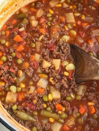 Tomato Hamburger Vegetable Soup | Tomato Soup | Vegetable Soup| Soup Recipe | Hamburger Soup #souprecipes #soup #vegetablesoup #hamburgersoup