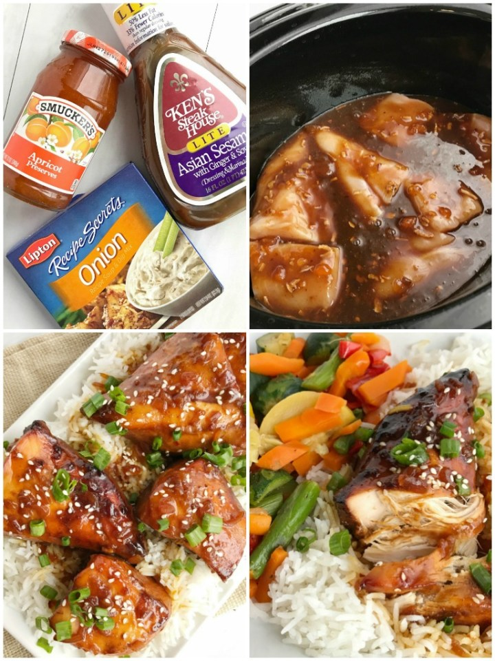 Slow Cooker Asian Sesame Chicken