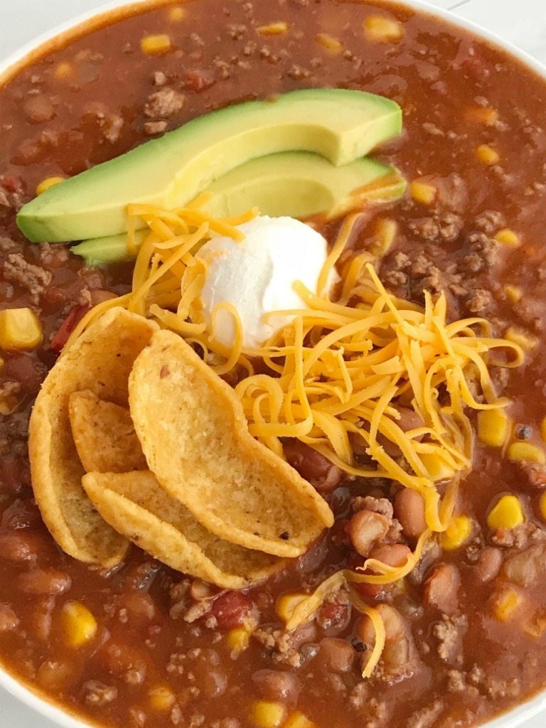 Easy Taco Soup Together As Family