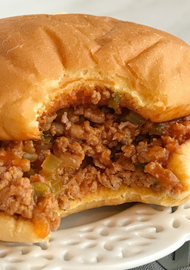 Crock Pot Turkey Sloppy Joes | Slow Cooker Sloppy Joes | Recipes with ground turkey | Sloppy Joes | Together as Family #slowcookerrecipes #crockpotrecipes #sloppyjoes