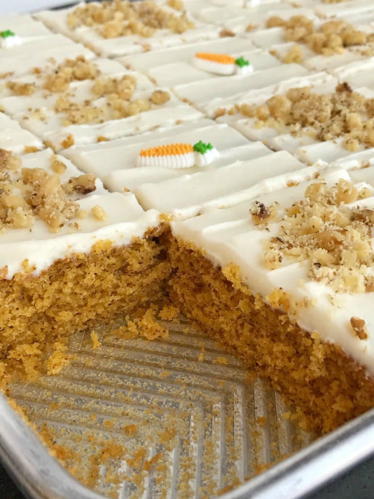 No Bake Carrot Cake Delicious