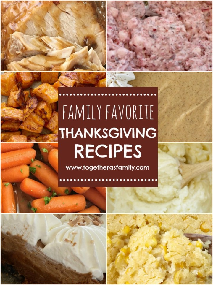 A recipe collection of all our favorite Thanksgiving recipes.