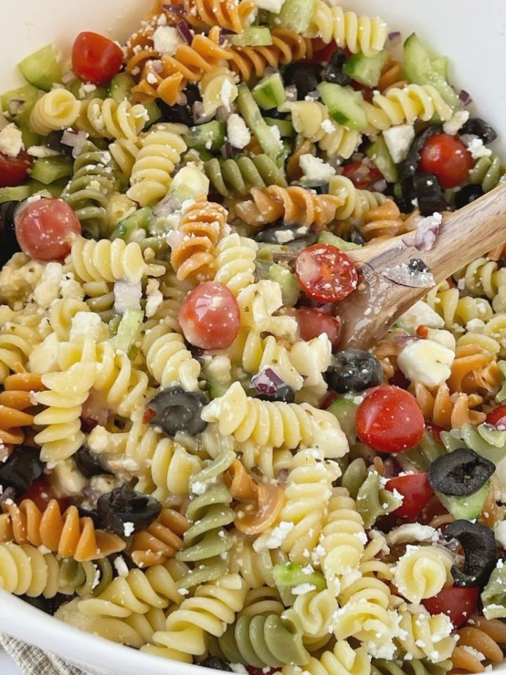 Easy Italian Pasta Salad Together As Family