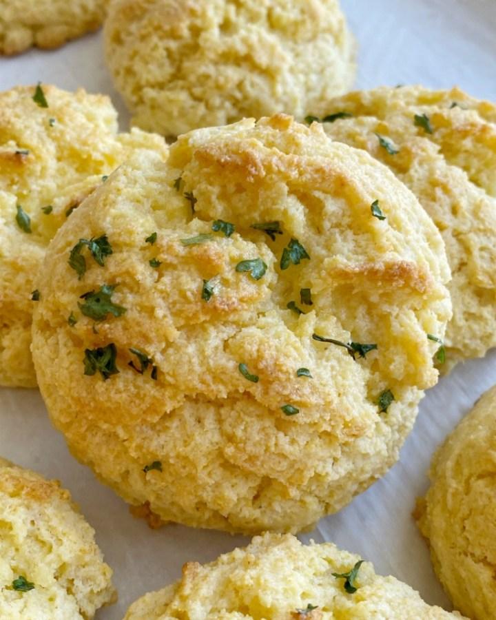 Cornbread Drop Biscuits