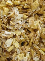 Easy snack mix recipe for Christmas Chex Mix