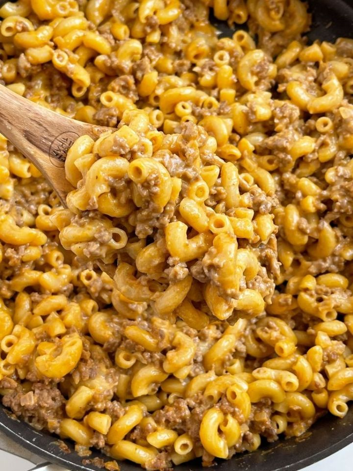 Hamburger helper made at home in just one pot.