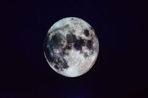 Weekend at Dwingelderveld National Park moon shot