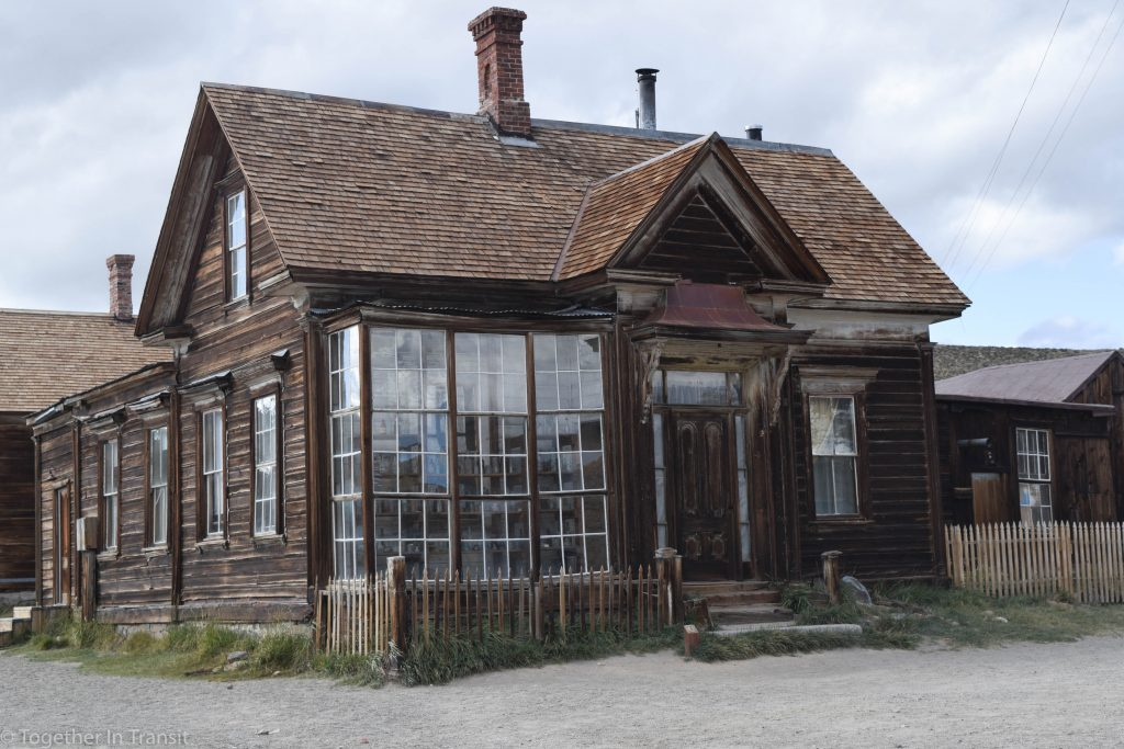 An abandoned store at at Bodie State Park, California