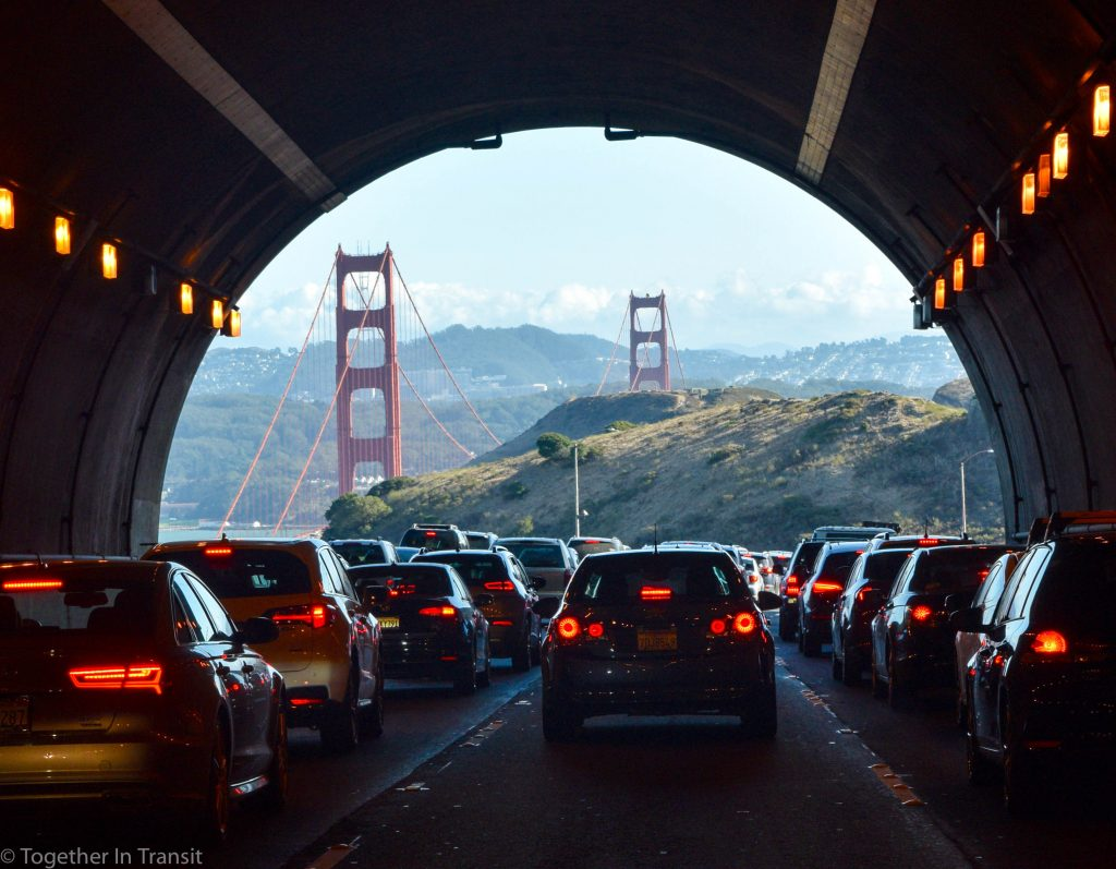San Francisco Tunnel view togetherintransit.nl