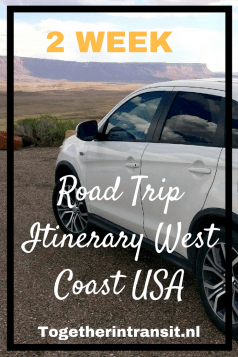 Take this 2 week US road trip itinerary to help inspire your own travel route!