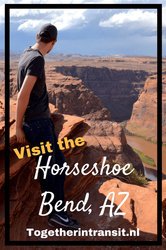 Hiking the Horseshoe Bend in Page, Arizona is the perfect small adventure!