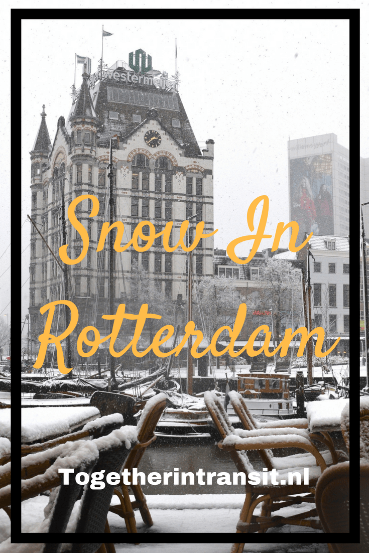 Snow in Rotterdam DEC