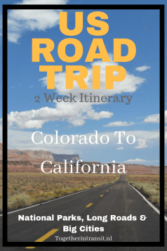 Road trip though Colorado to California for 2 weeks was the best trip we have ever taken in America! Check out our itinerary #travel