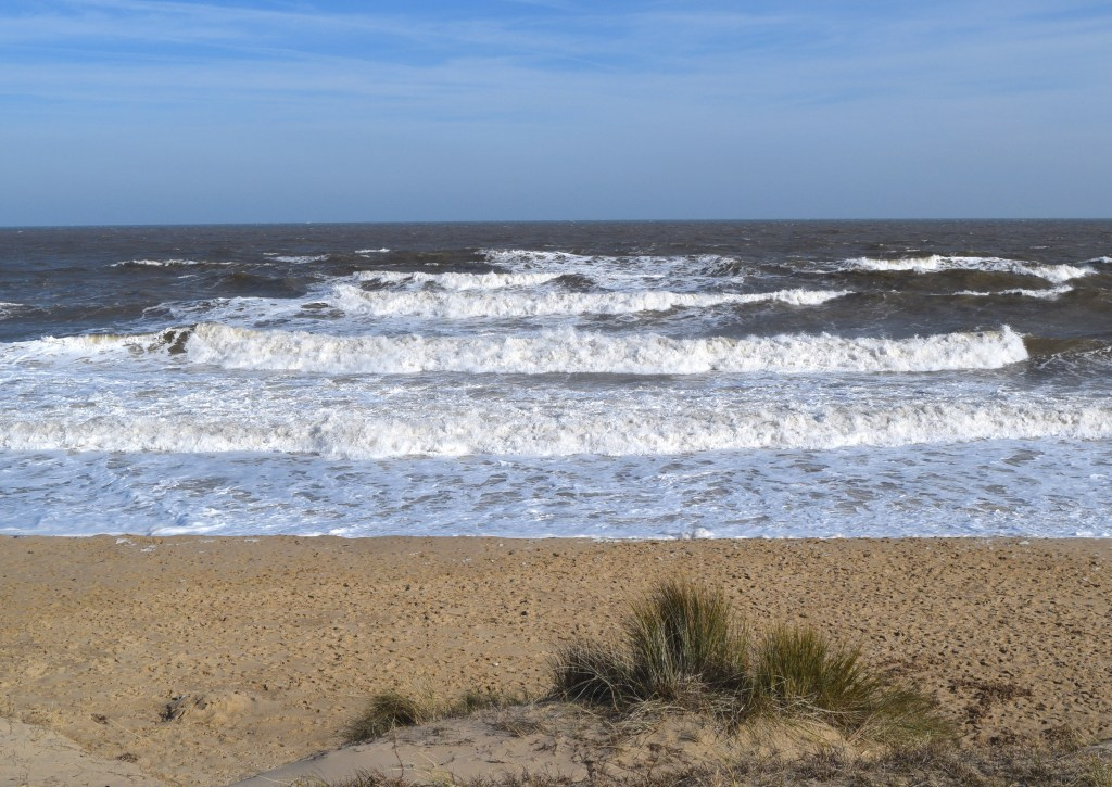 Sand Dunes Walk at Winterton On Sea Norfolk Togetherintransit.nl