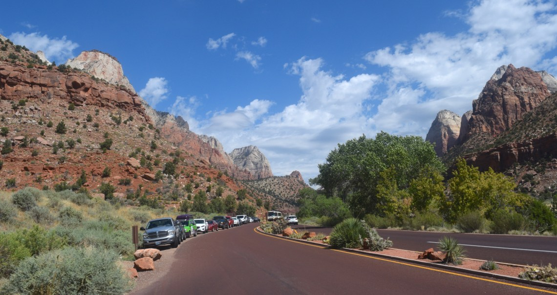 Zion National Park Hiking Angels Landing togetherintransit.nl