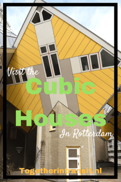 Cubic Houses Rotterdam are a must see in the city center during a visit to Rotterdam
