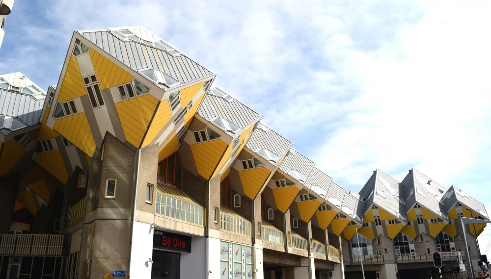 Cubic houses in Rotterdam is a must see visit!