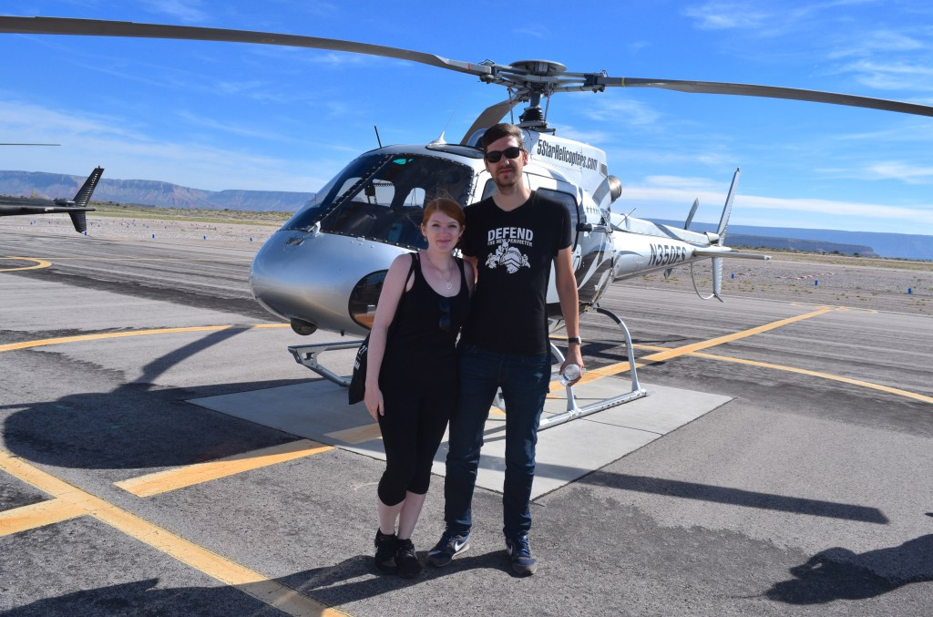 Grand Canyon Helicopter Tour US road trip togetherintransit.nl 8