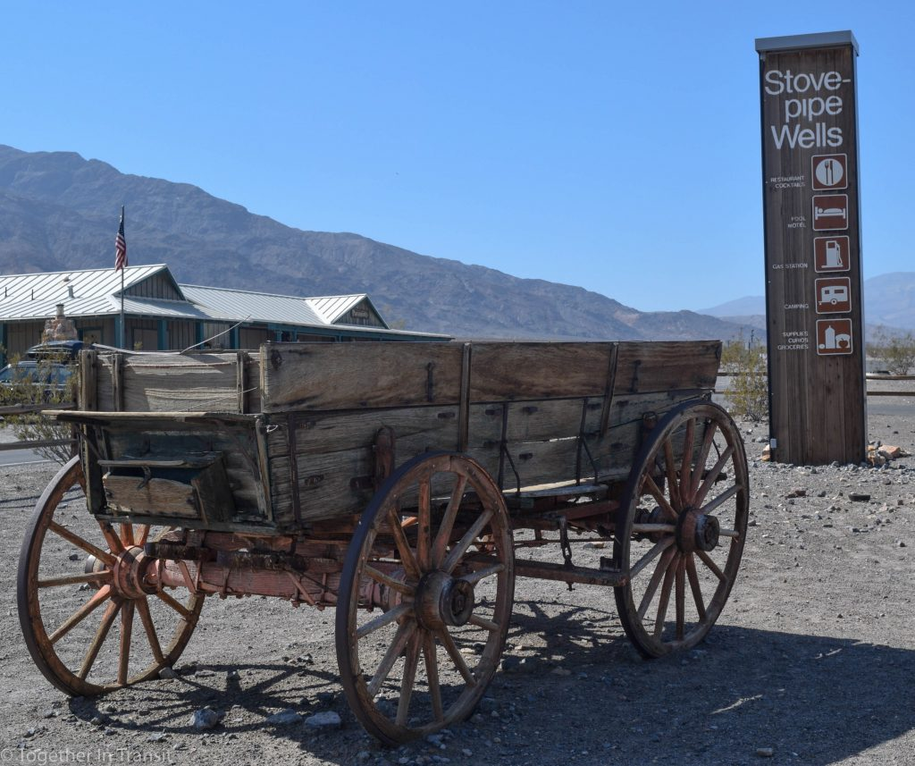Stovepipe Wells Ranger Station in Death Valley