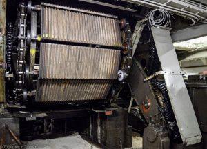 Maastunnel tour escalator room underneath the building
