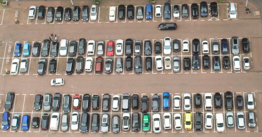 Dakendagen Rotterdam Rooftop Days cars below the WPC