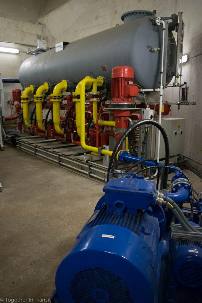 Pumps for Erasmusbrug on the Dag Van Het Architectuur Rotterdam 2018