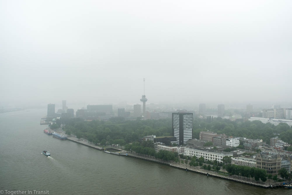 Euromast during Dakendagen 2018 in Rotterdam