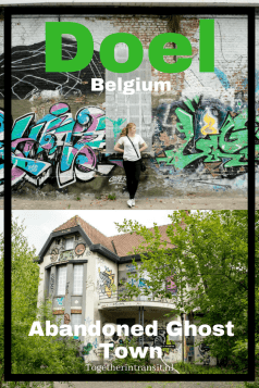 Visit the abandoned ghost town Doel in Belgium before it becomes part of the Antwerp Harbour.