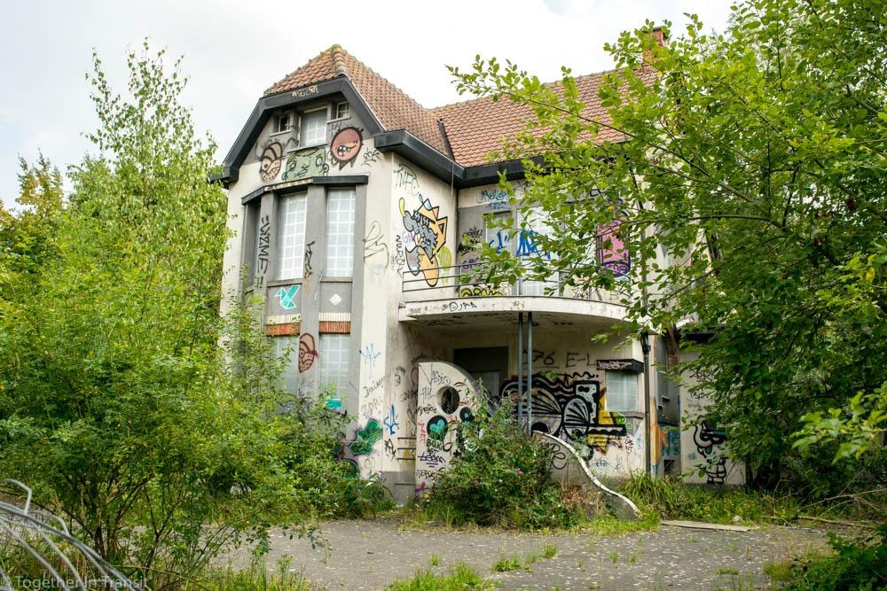 Abandoned Ghost Town Doel in Belgium