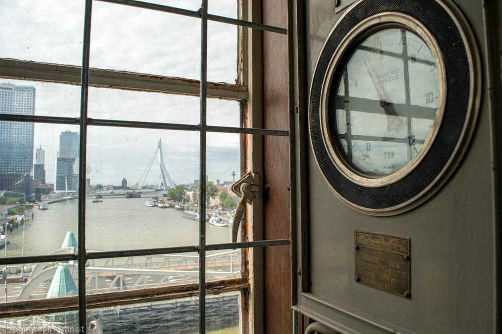 Inside the Hef on open monumentendag Rotterdam